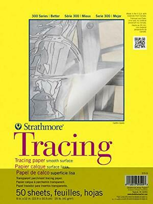 """5.5/""""x8.5/"""" Tape Bound 12 Sheets Strathmore 298-103 400 Series Watercolor Pad"""