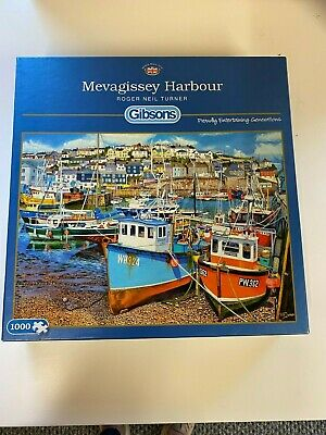 500XL Jigsaw Puzzle Gibson Mevagissey Harbour