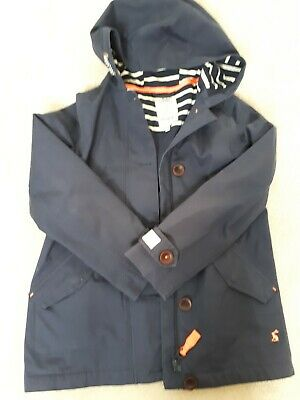 joules girls coat 9-10 years immaculate navy
