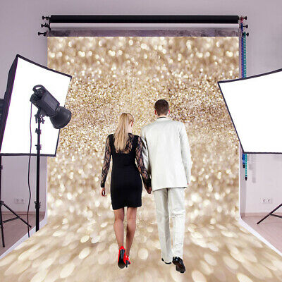 3x5/5x7FT Twinkle Shining Cloth Wall Photography Backdrop Studio Background