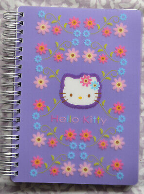 Hello Kitty By Sanrio Lined Spiral Notebook New In Packaging 102 Pages