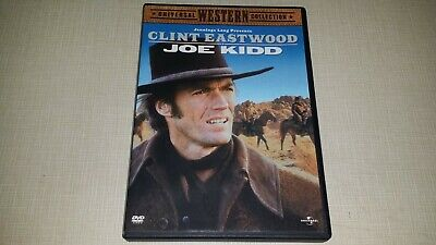 Joe Kidd Dvd 2003 Movie Video Film Clint Eastwood Universal Western Collection
