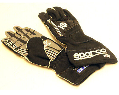 Go Kart Sparco Storm Htx Racing Gloves Fia Approvied Black XS Karting Racing