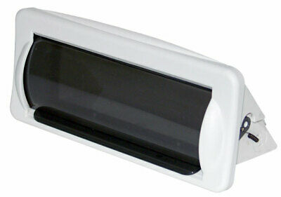 New Pyle Plmrcw2 White Marine Boat Radio Stereo Water Resistant Cover Housing