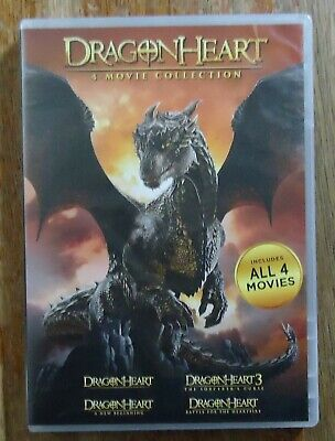 Dragonheart: 4-movie Collection Boxed Set