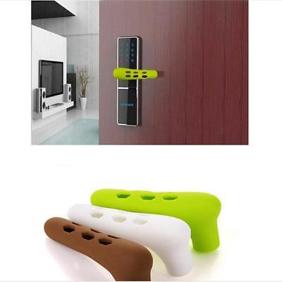 Home Silicone Door Handle Protective Kid Child Safety Secure Doorknob Cover CP