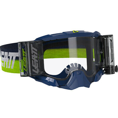 Leatt 5.5 Velocity Ink Clear Lens Roll Off Goggles
