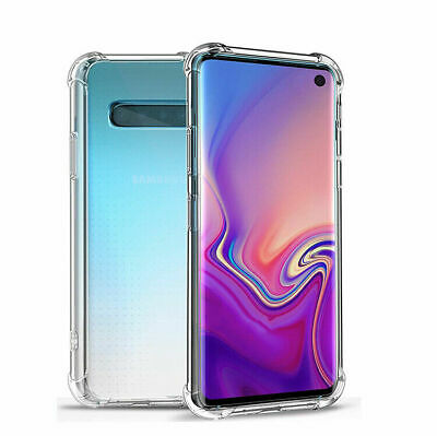CLEAR Case For Samsung Galaxy S20 Plus S10 S9 S8 S7 Edge Silicone Gel Shockproof