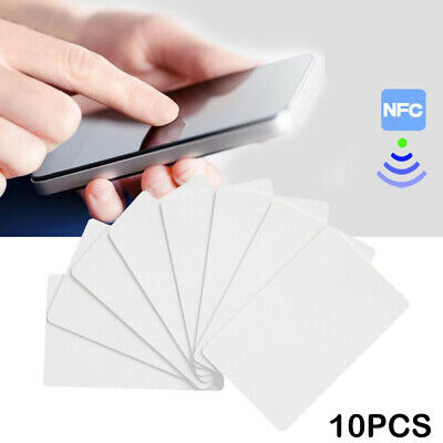 Waterproof NFC Card NTAG215 Tags RFID Cards Contactless Access Control Check-