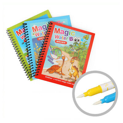 Vinsani Traffic Water Doodle Mat Drawing Writing Painting Board/&One Pen Age 3 Y+