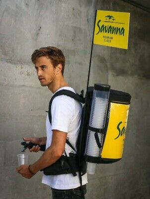 Portable Drinks Backpack For Beer and Soft Drink Dispensing