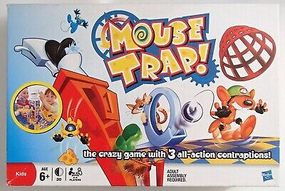 Cheese Bandit Kids Family Fun Hilarious Board Game Traps Mouse Get Cheeses 3+