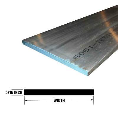 "6061 Aluminum Rectangle Bar, 0.313"" x 6"" x 12"""
