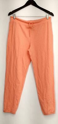 Xhilaration Size M Lounge Pants Pull On Drawstring Solid Pink Womens