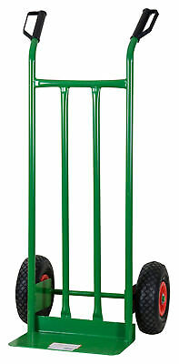 Cart Carrier Rack Capacity 200 kg with Wheels Pneumatic