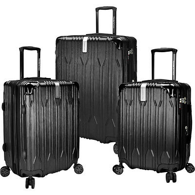 Traveler's Choice Bell Weather 3 Piece Expandable Luggage Set NEW