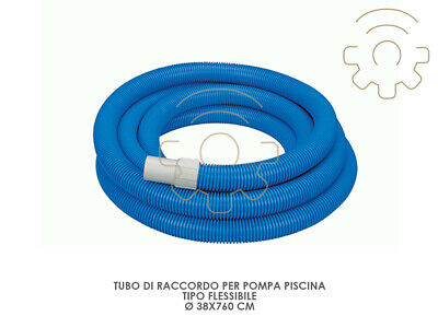 Intex 29083 Tube de Raccord pour Pompe Piscine Flexible Ø 38x760cm Piscines Fil