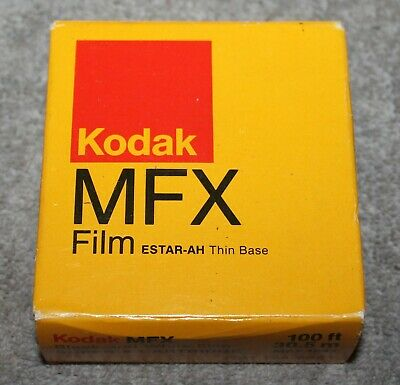 Vintage Kodak Mfx Film Black And White Super 8 Cartridge Sealed