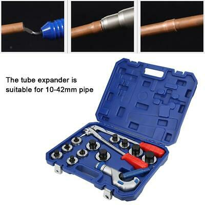 CT-100AL Manual Tube Expander Pipe Flaring Tool for Copper Aluminum Pipe 10-42mm