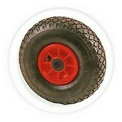 Wheel Pneumatic Rubber for Trolleys Rails mm 260x85 with Inner Tube
