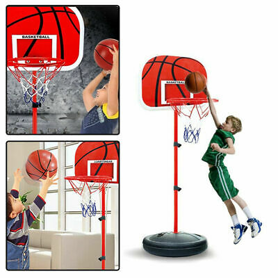 Kinder Basketball SET + Basketballkorb + Basketballständer +Pumpe+ Ball 65-150cm