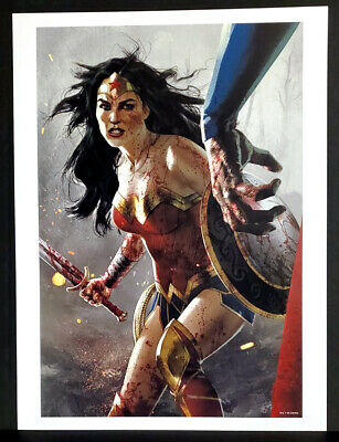 POWER GIRL SHE-HULK WONDER WOMAN ROGUE ART PRINTS CARLOS GOMEZ ANDREW HARMON