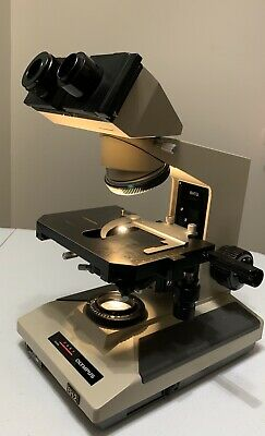 Olympus BH-2 BHT Microscope with Binocular Head, Condender and Mechanical Stage