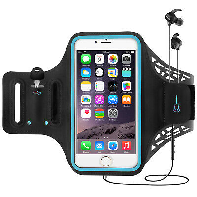 For iPhone 11 Pro/XS Max/XR/X Sports Armband Running Jogging Phone Holder Case