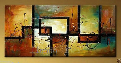 ZWPT37  large 100% hand-painted modern abstract oil painting decor art on Canvas