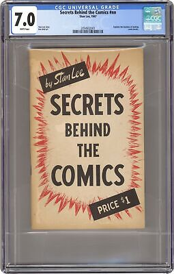 Secrets Behind the Comics by Stan Lee 1947 CGC 7.0 2054932001