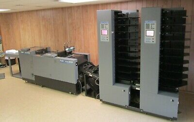 Duplo 4000 Airfeed Collating and Bookletmaking System with Two Towers