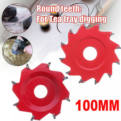 100mm Power Wood Carving Disc Octagonal Dodecagonal Angle Grinder Blade