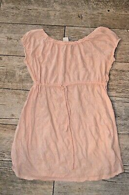 Girls SO Large L 14 light peach Pink babydoll tunic top Large