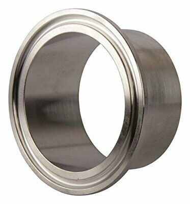 Tri Clamp Ferrule | Weld 2 inch x 28.6 mm - Stainless Steel SS304 / 3A
