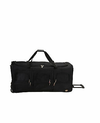 NEW Luggage 40 inch Rolling Duffle Travel Bag Internal Handle Wheels Extra Large