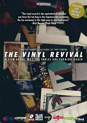 THE VINYL REVIVAL A Film About Why The Tables Are Turning Again DVD Europe