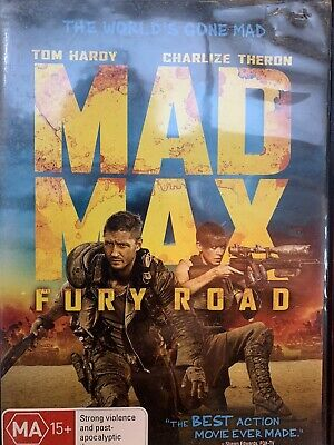 Mad Max Fury Road 2015 DVD Charlize Theron Tom Hardy Action Movie George Miller