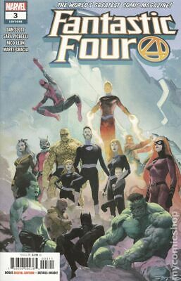 Fantastic Four #6A Ribic Variant VF 2019 Stock Image