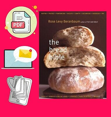 The Bread Bible by R0se Lėvy Beranbaum ,A Witschonke, M Batterberry [P.D.F]✅⚡