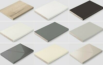 Melamine Faced Chipboard (MFC) cut to size and edged all round