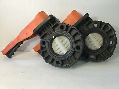 "Hayward 3"" Butterfly Valve 150 PSI PPL Viton Lot of 2"