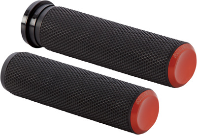 Arlen Ness Orange Fusion Knurled Grips for Cable 07-304