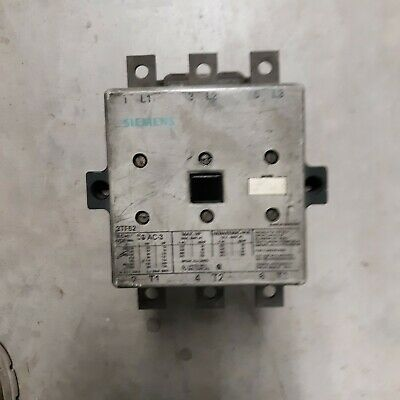Siemens 3Tf52 Contactor 110/120V Coil
