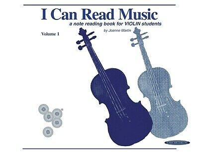 I Can Read Music, Vol 1: for Violin