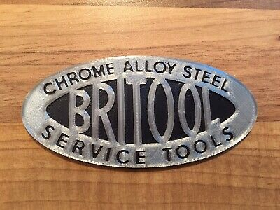 Large 'Oval Style' Toolbox Badge Toolchest Emblem fits Britool Tool Box Chest