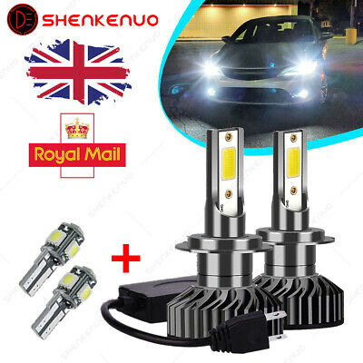 Ford Mondeo MK3 H7 501 55w ICE Blue Xenon HID Low//LED Trade Side Light Bulbs Set