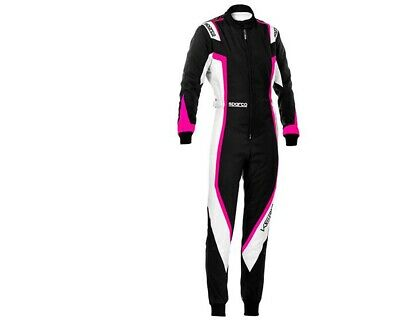 Go Kart Sparco Kerb Lady Suit Child Karting Race Racing