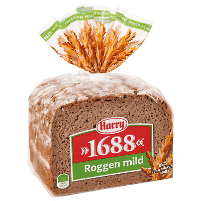 Harry Brot 1688 Roggen mild 500g