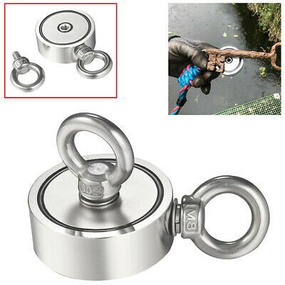 600LBS Double-sided Magnet Fishing Strong Pulling Force Treasure Hunt Neodymium