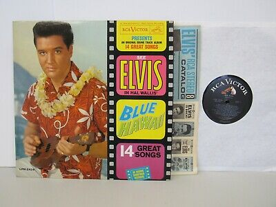 Elvis Presley - Elvis in Blue Hawaii Movie Soundtrack  - Rock LP - Mono